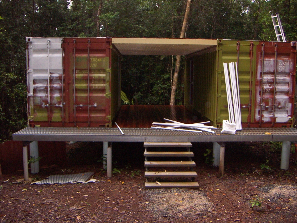 Shipping container home accommodation - Container homes queensland ...