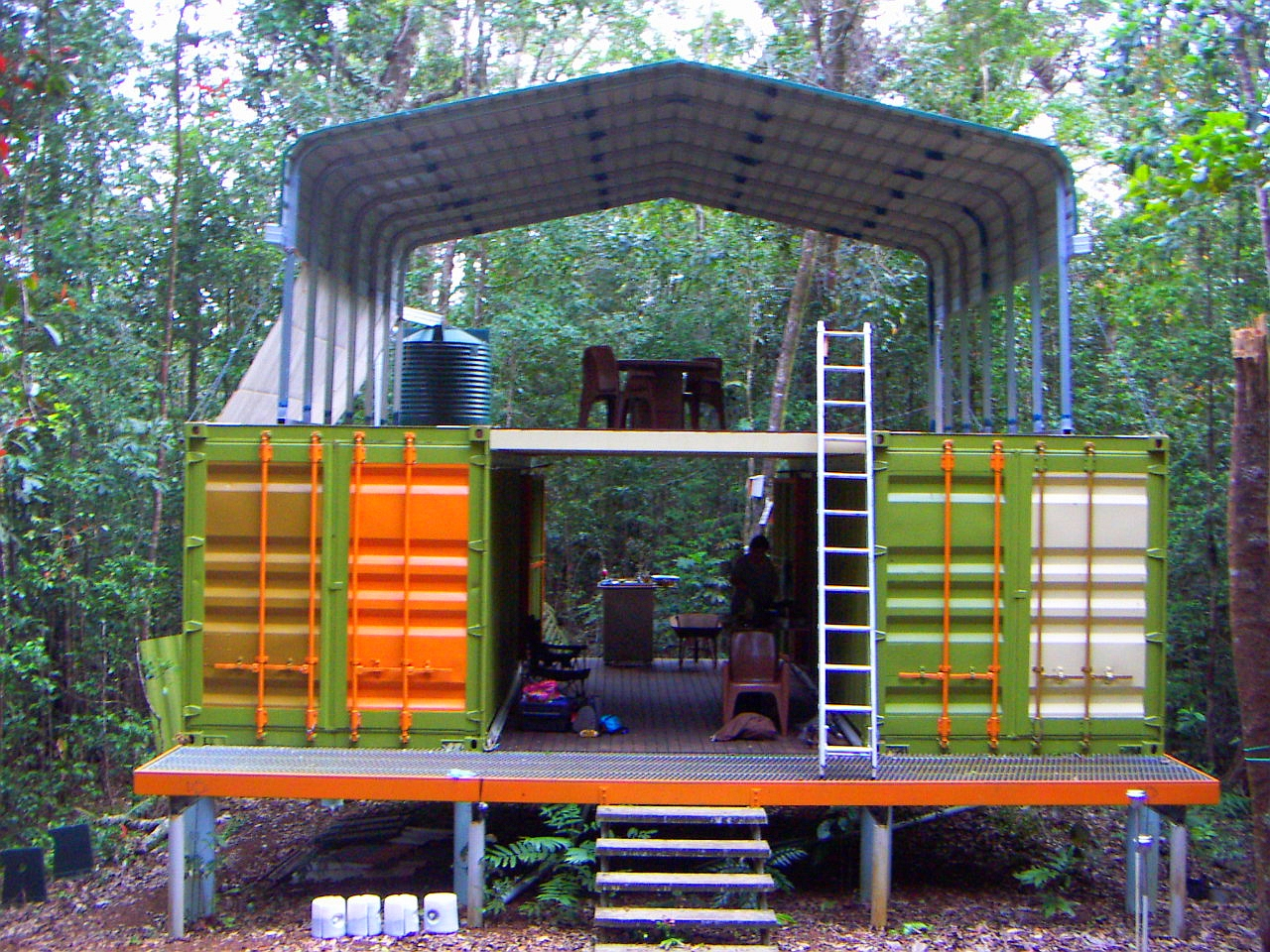 Shipping Container Home Accommodation